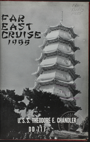 Page 3, 1955 Edition, Theodore E Chandler (DD 717) - Naval Cruise Book online yearbook collection