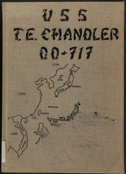 1968 Edition, Theodore E Chandler (DD 717) - Naval Cruise Book