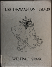 Page 1, 1980 Edition, Thomaston (LSD 28) - Naval Cruise Book online yearbook collection