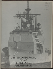 Page 5, 1984 Edition, Ticonderoga (CG 47) - Naval Cruise Book online yearbook collection