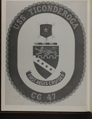 Page 6, 1984 Edition, Ticonderoga (CG 47) - Naval Cruise Book online yearbook collection
