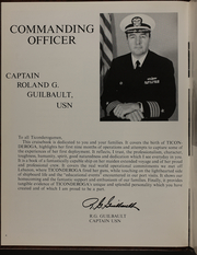 Page 8, 1984 Edition, Ticonderoga (CG 47) - Naval Cruise Book online yearbook collection