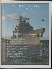 Page 5, 1997 Edition, Ticonderoga (CG 47) - Naval Cruise Book online yearbook collection