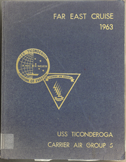 Page 1, 1963 Edition, Ticonderoga (CVA 14) - Naval Cruise Book online yearbook collection