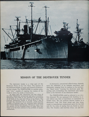 Page 10, 1962 Edition, Tidewater (AD 31) - Naval Cruise Book online yearbook collection