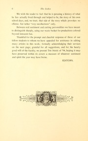 Page 14, 1894 Edition, Illinois State Normal University - Index Yearbook (Normal, IL) online yearbook collection