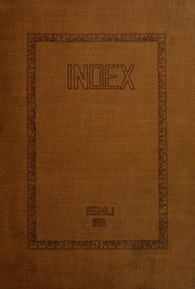 Page 1, 1911 Edition, Illinois State Normal University - Index Yearbook (Normal, IL) online yearbook collection