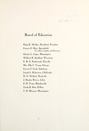 Page 11, 1911 Edition, Illinois State Normal University - Index Yearbook (Normal, IL) online yearbook collection