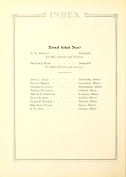 Page 12, 1923 Edition, Illinois State Normal University - Index Yearbook (Normal, IL) online yearbook collection