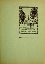 Page 3, 1923 Edition, Illinois State Normal University - Index Yearbook (Normal, IL) online yearbook collection
