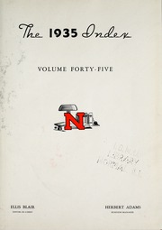 Page 7, 1935 Edition, Illinois State Normal University - Index Yearbook (Normal, IL) online yearbook collection