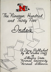 Page 9, 1935 Edition, Illinois State Normal University - Index Yearbook (Normal, IL) online yearbook collection