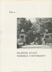Page 5, 1958 Edition, Illinois State Normal University - Index Yearbook (Normal, IL) online yearbook collection