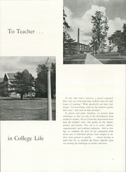 Page 9, 1962 Edition, Illinois State Normal University - Index Yearbook (Normal, IL) online yearbook collection