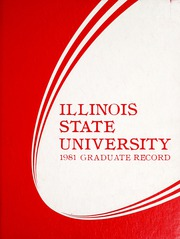 Page 1, 1981 Edition, Illinois State Normal University - Index Yearbook (Normal, IL) online yearbook collection