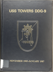 1987 Edition, Towers (DDG 9) - Naval Cruise Book