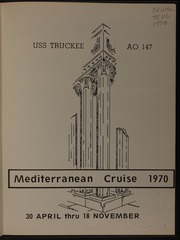 Page 5, 1970 Edition, Truckee (AO 147) - Naval Cruise Book online yearbook collection