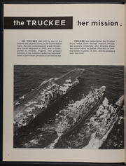 Page 6, 1970 Edition, Truckee (AO 147) - Naval Cruise Book online yearbook collection