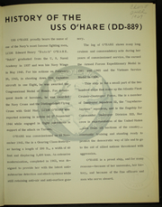 Page 5, 1969 Edition, O Hare (DD 889) - Naval Cruise Book online yearbook collection