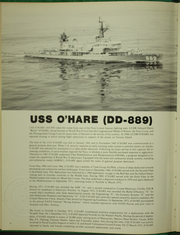 Page 6, 1973 Edition, O Hare (DD 889) - Naval Cruise Book online yearbook collection