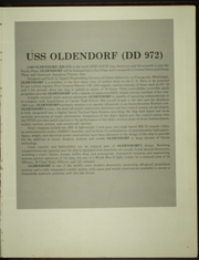 Page 7, 1979 Edition, Oldendorf (DD 972) - Naval Cruise Book online yearbook collection
