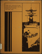 Page 1, 1980 Edition, Oldendorf (DD 972) - Naval Cruise Book online yearbook collection