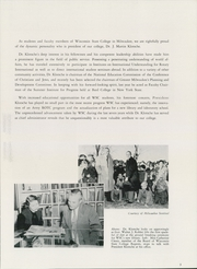 Page 13, 1953 Edition, University of Wisconsin Milwaukee - Ivy Yearbook (Milwaukee, WI) online yearbook collection