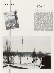 Page 8, 1953 Edition, University of Wisconsin Milwaukee - Ivy Yearbook (Milwaukee, WI) online yearbook collection