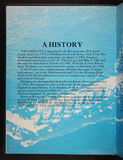Page 6, 1974 Edition, Oriskany (CVA 34) - Naval Cruise Book online yearbook collection