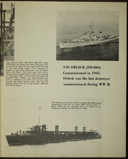 Page 7, 1968 Edition, Orleck (DD 886) - Naval Cruise Book online yearbook collection