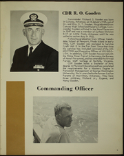 Page 9, 1968 Edition, Orleck (DD 886) - Naval Cruise Book online yearbook collection