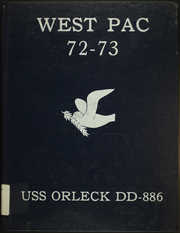 Page 1, 1973 Edition, Orleck (DD 886) - Naval Cruise Book online yearbook collection