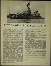 Page 9, 1973 Edition, Orleck (DD 886) - Naval Cruise Book online yearbook collection