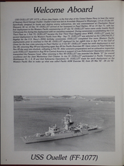 Page 6, 1992 Edition, Ouellet (FF 1077) - Naval Cruise Book online yearbook collection