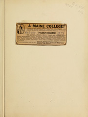 Page 3, 1939 Edition, Nasson College - Nugget Yearbook (Springvale, ME) online yearbook collection