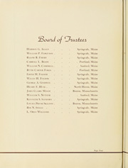 Page 8, 1939 Edition, Nasson College - Nugget Yearbook (Springvale, ME) online yearbook collection