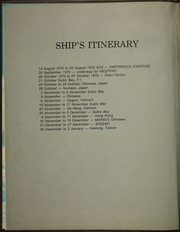Page 6, 1974 Edition, Racine (LST 1191) - Naval Cruise Book online yearbook collection