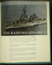 Page 5, 1968 Edition, Radford (DD 446) - Naval Cruise Book online yearbook collection