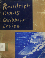 Page 1, 1956 Edition, Randolph (CVA 15) - Naval Cruise Book online yearbook collection