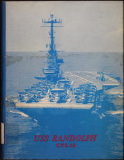 Randolph (CVS 15) - Naval Cruise Book online yearbook collection, 1964 Edition, Page 1