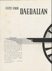 Page 6, 1954 Edition, Texas State College for Women - Daedalian Yearbook (Denton, TX) online yearbook collection