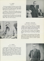 Page 15, 1961 Edition, Texas State College for Women - Daedalian Yearbook (Denton, TX) online yearbook collection