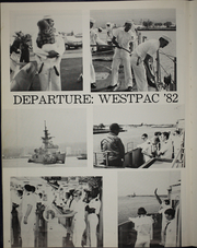 Page 8, 1982 Edition, Rathburne (FF 1057) - Naval Cruise Book online yearbook collection
