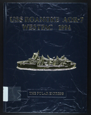 Page 1, 1994 Edition, Roanoke (AOR 7) - Naval Cruise Book online yearbook collection