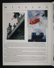 Page 6, 1994 Edition, Roanoke (AOR 7) - Naval Cruise Book online yearbook collection