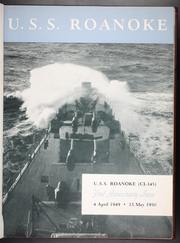 Page 7, 1950 Edition, Roanoke (CL 145) - Naval Cruise Book online yearbook collection
