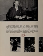 Page 12, 1953 Edition, Tufts University - Jumbo Yearbook (Medford, MA) online yearbook collection