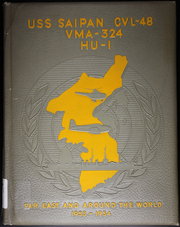 Page 1, 1954 Edition, Saipan (CVL 48) - Naval Cruise Book online yearbook collection
