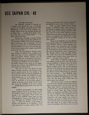 Page 13, 1954 Edition, Saipan (CVL 48) - Naval Cruise Book online yearbook collection