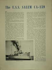 Page 16, 1950 Edition, Salem (CA 139) - Naval Cruise Book online yearbook collection